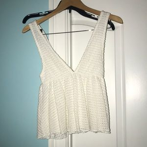 Urban outfitters deep v tank